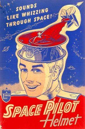 Space Pilot Helmet