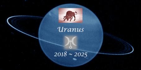 Uranus in Taurus 2018-2019