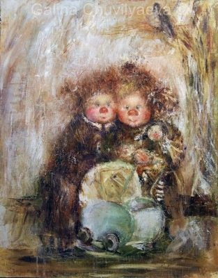 Artwork by Galina Chuvilyaeva