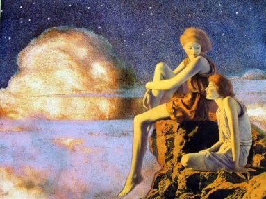 'Contentment' by Maxfield Parrish