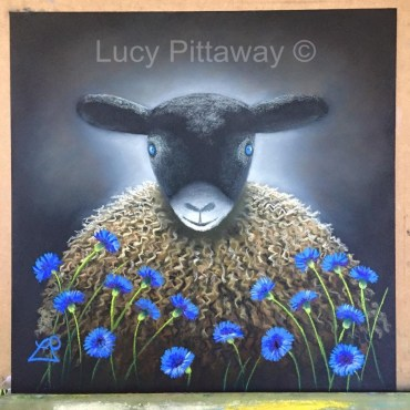 'Blue Eyes' by Lucy Pittaway