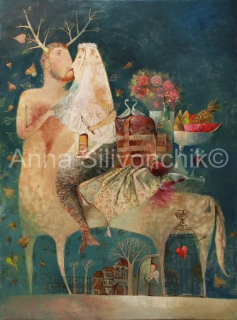 'Wedding Kiss' by Anna Anna-Silivonchik