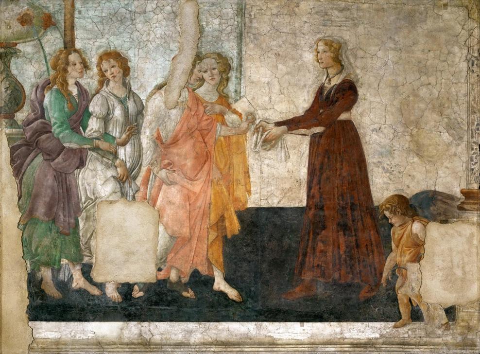 'Le Tre Grazie' (The Three Graces)' by Sandro Botticelli