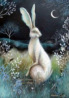 'Moon Dream' by Amanda Jane Clark