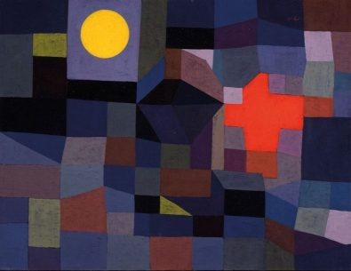 'Fire at Full Moon' by Paul Klee (1933)