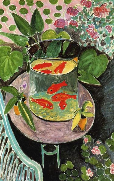'Gold Fish' by Henri Matisse
