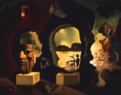 'Old Age, Adolescence, and Infancy' by Salvador Dali' (1940)