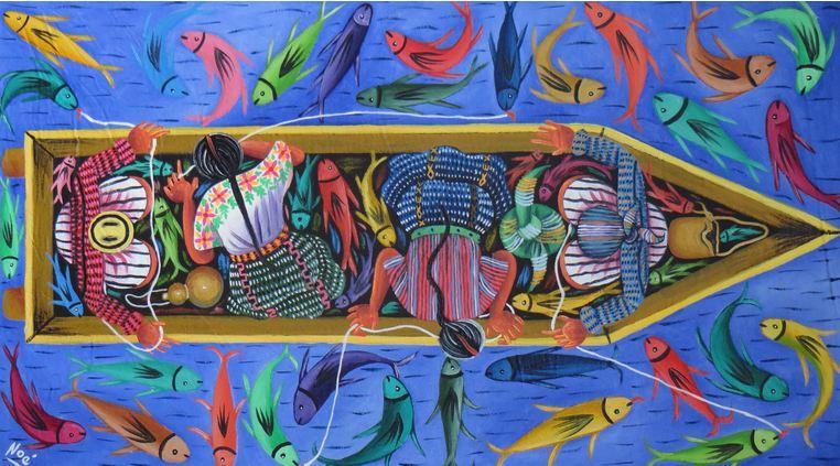 Modern Mayan Art