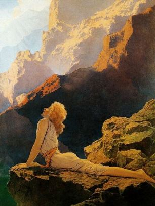 'Wild Geese' by Maxfield Parrish (1923)