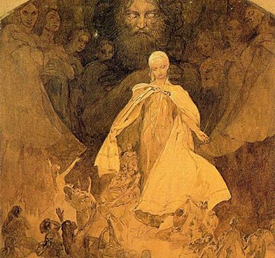 'Age of Wisdom' by Alphonse Mucha