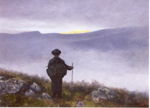 'Soria_Moria' by Theodor Kittelsen illustration for a Norwegian fairy tale