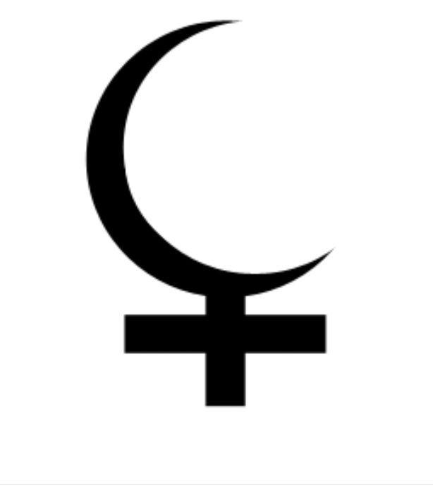 Black Moon Lilith Glyph