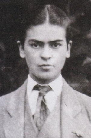 Frida Kahlo as a boy