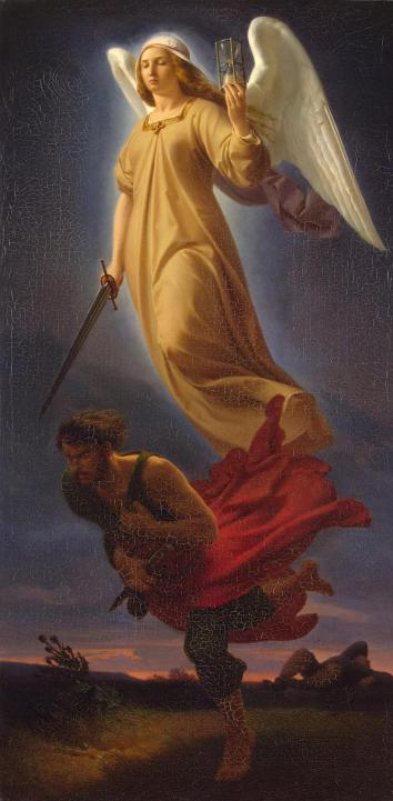 'Nemesis' by Alfred Rethel