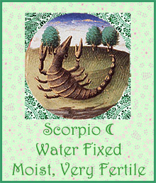 08 Scorpio Moon Moist Very Fertile