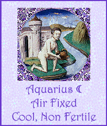 11 Aquarius Moon Cool Non Fertile