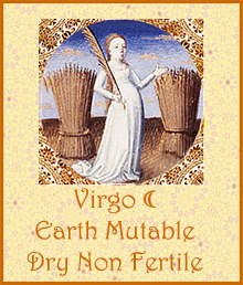 Virgo Moon Dry Non Fertile